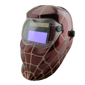 Li Battery Solar Automatic Darkening Welding Helmet welder Mask eyes Cap For