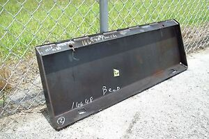 Bobcat Mt Series Loader Adaptor Plate By Bradco weld On high Quality made Usa