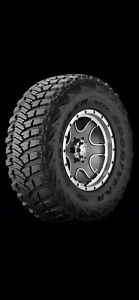 New Goodyear Wrangler Mt r With Kevlar 37x12 50r17 D 8pr Bsw 4 Tires