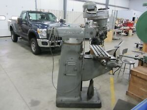 Bridgeport Milling Machine Vertical Mill 3 Phase 230 460 Volt Motor Cheap