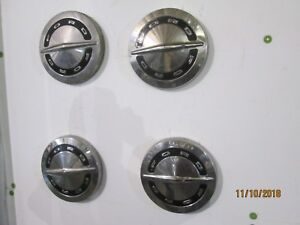 1964 66 Ford Galaxie 500 Pickup Truck Dog Dish Hubcaps Set Of 4