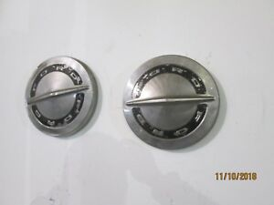 1964 66 Ford Galaxie 500 Pickup Truck Dog Dish Hubcaps Set Of 2
