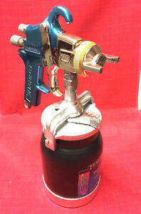 Sharpe 975 Hvlp Spray Gun With Like New 450 Siphon Cup