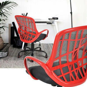 Mid Back Mesh Office Chair Executive Gaming Computer Desk Task Black white red