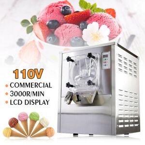 Us 110v 20l h Commercial Frozen Scooping Ice Cream Machine Maker Ice cream Ball
