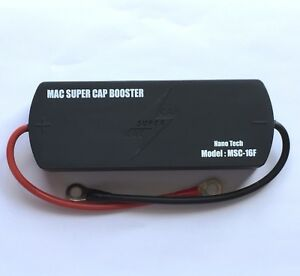 Mac Supercap Battery Booster 16 Farads Audio Engine Starting Stabilizer Free Dhl