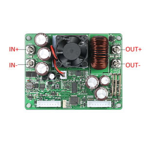 Hk 50v 20a Voltage Current Step down Power Supply Module Buck Converter Sweet