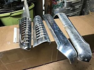 1963 64 Ford Galaxie 4 Door Front Seat Stainless Trim And Brackets