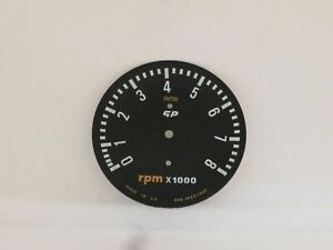 Tachometer Dial Face Plate New Old Stock Original Smiths Gp Series Rvc1002 00f