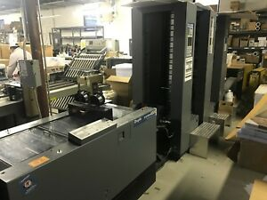 Duplo 4000 Collator bookletmaker With 3 Towers And Stacker