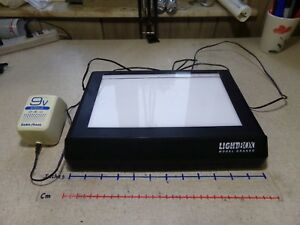 Lightbox Grande Light Viewing Box With Radioshack Power Supply free Shipping
