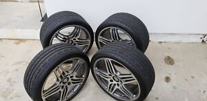 19 porsche Oem Factory 911 997 Turbo I Wheels tires Tpms Center Caps Set