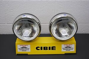 Cibie Bi oscar Replica Sim Fog driving Beam Rally Lights Large 7 Round Pair