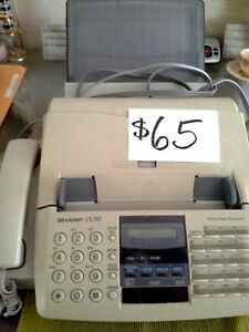 Sharp Ux 510 Thermal Paper Fax And Copy Machine