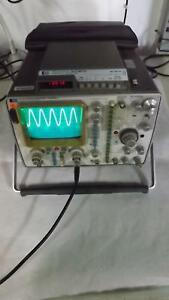 Hp Hewlett Packard 1715a Oscilloscope W Time Interval Multimeter T33982