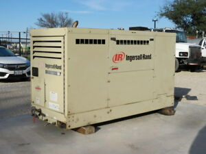 Ingersoll Rand P130wjdu Air Compressor 130 Cfm John Deere Diesel Video Dfw Texas