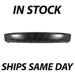 New Primered Steel Front Bumper Face Bar For 1997 1998 Ford F250 F350 W o Strip