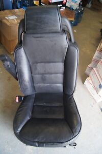 2004 Land Rover Discovery Left Front Driver Side Black Bucket Power Seat