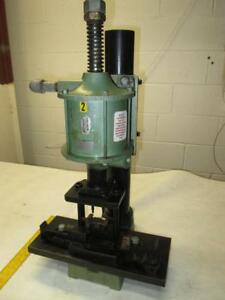 Air mite 505 10 1520 0132 Industrial Table Top Pneumatic Air Press