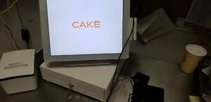 Cake Pos Terminal complete System Epson M188b Thermal Printer new never Used