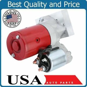 Starter For Sbc Chevy Mini High Torque Red 3hp 153 168 Tooth 350 400 Small Block