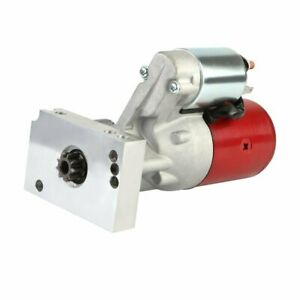 For Chevy Sbc 350 Bbc 454 10 153t 11 168t Tilton Style 4hp Race Starter Red