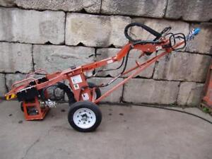 General 660 Tow Behind Hydraulic One Man Auger Honda Motor Post Hole Digger 2