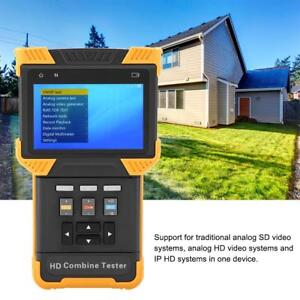 Dt t60 Cctv Tester 4 0 Hd 1080p Ip Analog Camera Combine Test Monitor Tester Mf