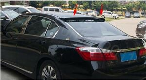 Abs Rear Roof Factory Style Spoiler Wing For 2013 2016 Honda Accord 4dr Sedan