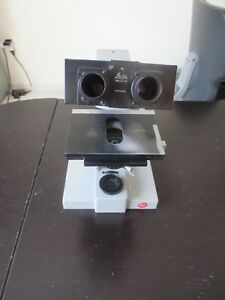 Leitz Dialux Microscope For Parts