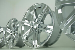22 Chrome Chevy Silverado Tahoe Gmc Sierra Yukon Denali Wheels Rims Ck157 5667