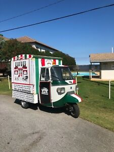 Piaggio Ape Pizza Concession Food Truck Street Legal Florida Tag And Title
