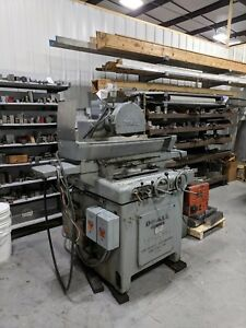 Doall G14c Hydraulic Surface Grinder With Magnetic Vise Fully Operational 220v