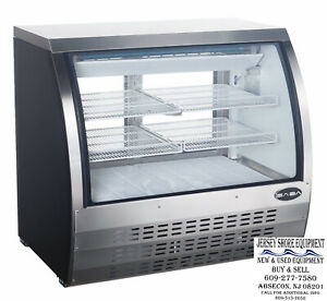 Saba 47 Display Case Commercial Deli Pastry Meat Case Refrigerator Display