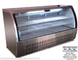 Saba 82 Scgg 82 Display Case Commercial Deli Pastry Meat Case Refrigerator
