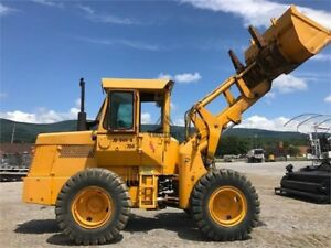 1974 Deere 544a John Wheel Loader Enclosed Cab With Heat Pin On Forks bucket