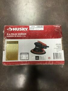 6 Husky Tools Spindle Palm Sander 683682 lam017885
