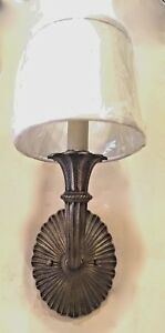 One Traditional Style Hard Wired Wall Sconce 4 Projection