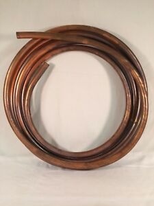 7 8 Od X 25ft Type K Nsf 61 Soft Copper Tubing Tube Coil Hvac Water 14 Pounds