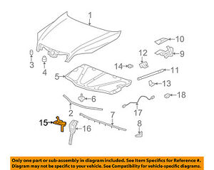 Gm Oem Hood lock Latch 95443281