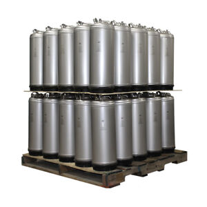 Qty 50 Pallet New 5 Gallon Ball Lock Homebrew Beer Coffee Kegs Ships Free