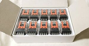New My4 ac24 s Plug In Relay 14 Pins Omron 10 Relays