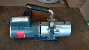 Sargent welch Scientific Co Sarvac Model 8804 Vacuum Pump Ge 1 6 Hp Motor