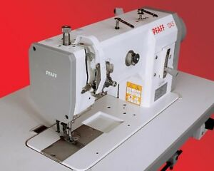 Pfaff 1245 Industrial Walking Foot Sewing Machine With Stand And Servo Motor