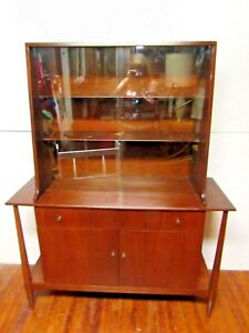 Mid Century Danish Modern China Cabinet