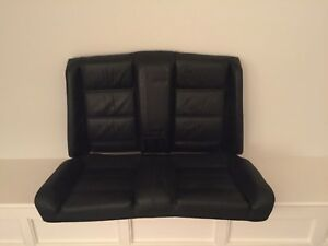 Bmw E30 3 Series Convertible Rear Seat Backrest Top And Bottom Black