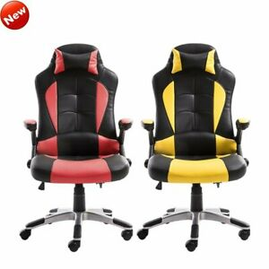 New High Back Racing Gaming Chair Office Executive Computer Desk Swivel Chair