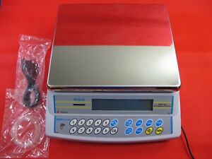Adam Equipment Cbk 16a Digital Bench Scale With Power Supply Usb Cord