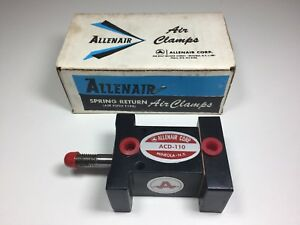 Allenair Cylinder Acd 110 Spring Return Air Clamp New In Box