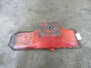 International Harvester 1066 Tractor Engine Oil Pan Tag 6127